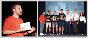 Chris Stephan moderiert Jugendmeisterschaften Bau