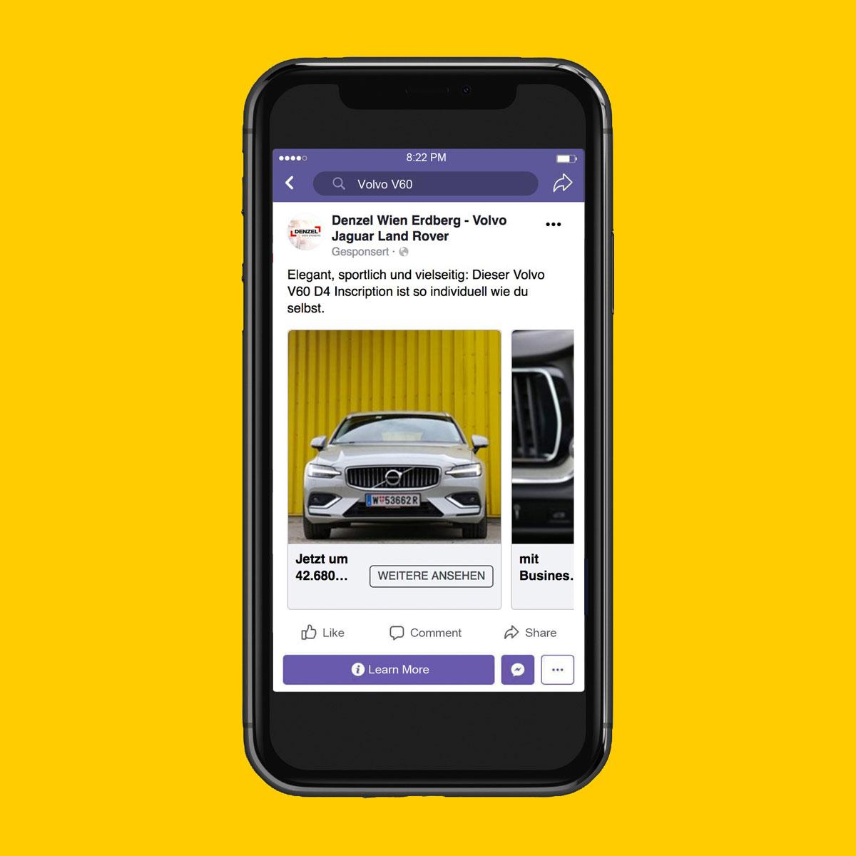 Facebook-Ad Volvo